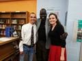 Former 'Lost Boy' Refugee Visits the OMS image