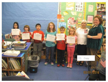 VV 2nd grade winning DAR essays