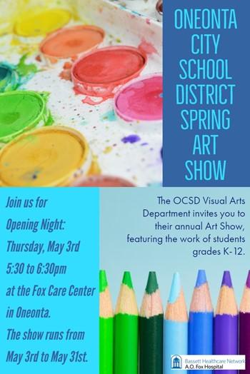 OCSD Spring Art Show
