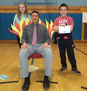 Principal Mr. Baskin in The Hot Seat