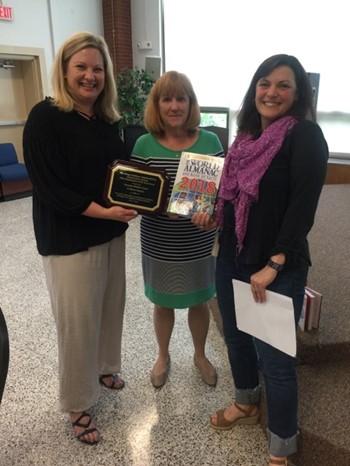 Middle School Principal Wins Award