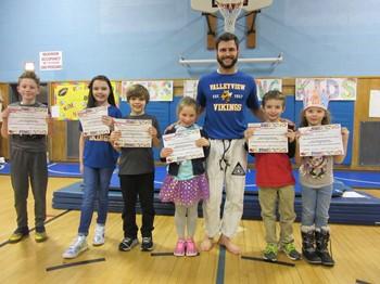 PE Golden Rules certificate winners