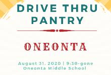 9/30/20 Drive Thru Pantry!