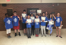 Fourth and Fifth Grade Math Bowl Participants