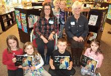 Valleyview 3rd Graders Enjoy Author Visit