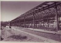 Construction of the new Valleyview School, 1956