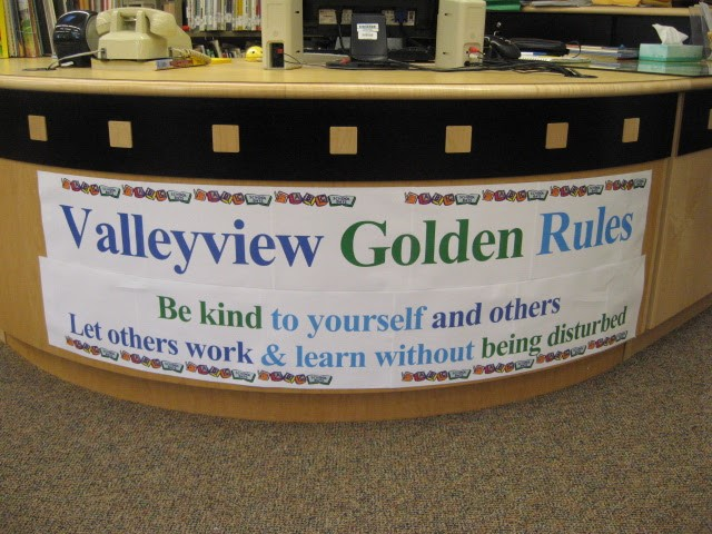 Valleyview Golden Rules Posted in Library