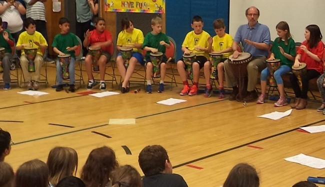 Valleyview Third Grade African Drum Performance
