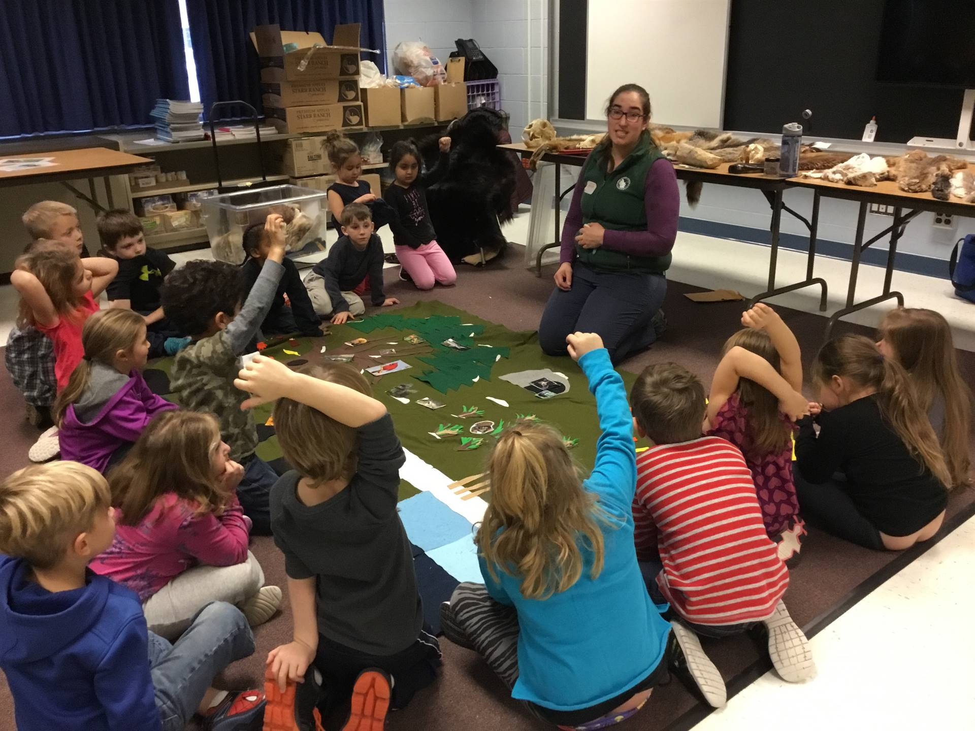 Rogers Environmental Center Visits
