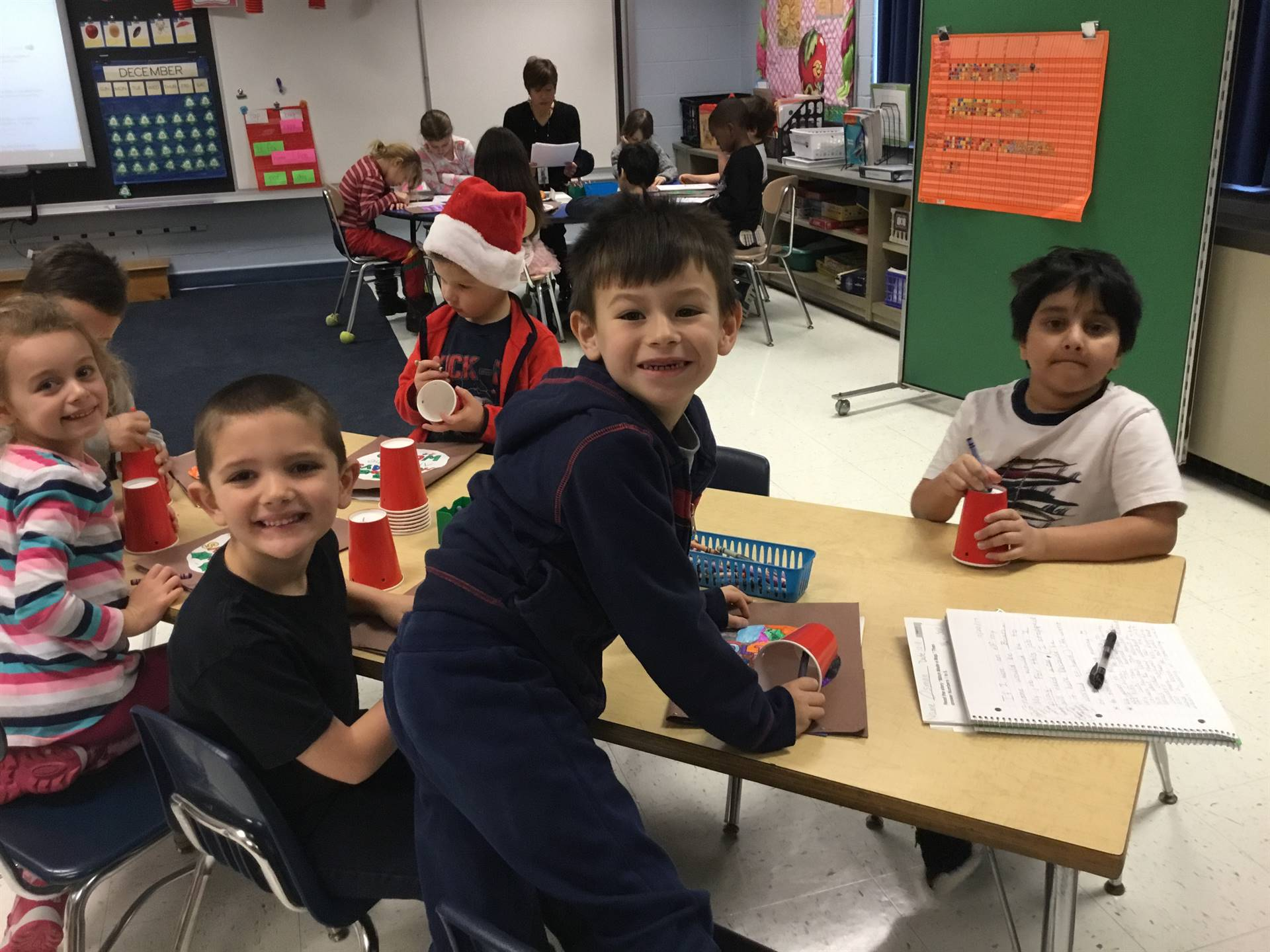 First Graders Exploring Holidays Around the World