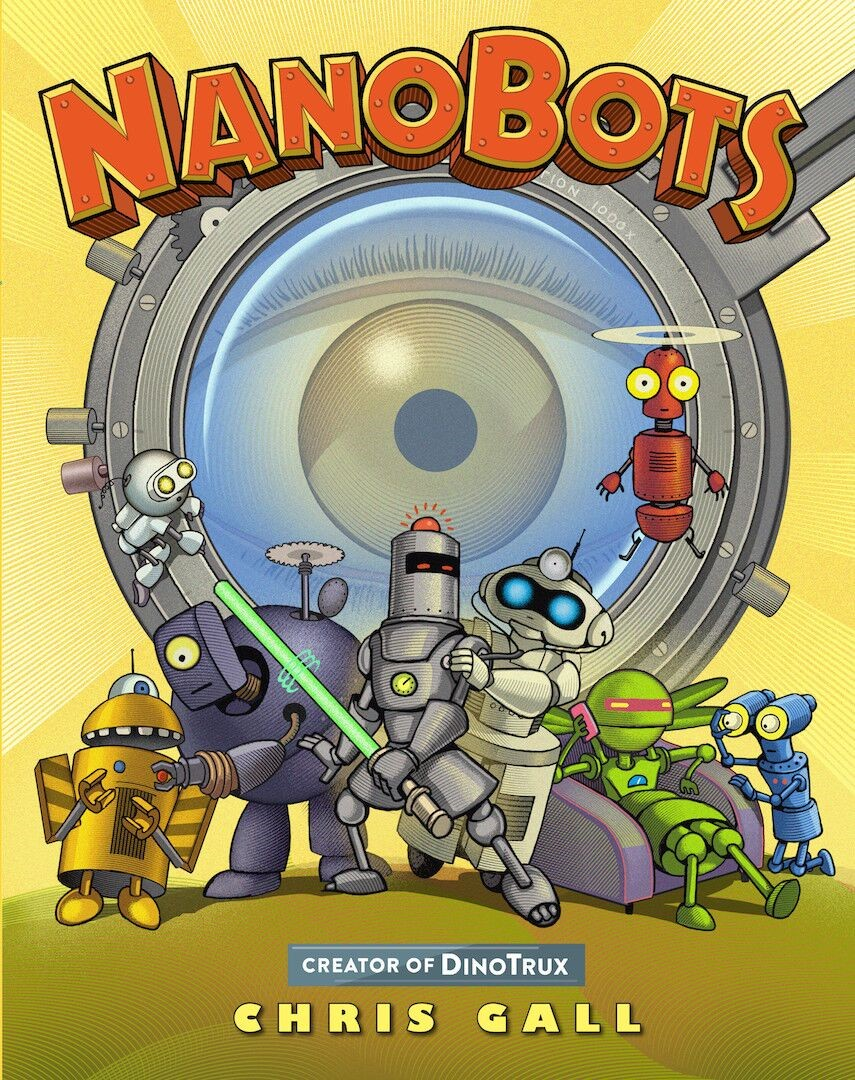 """""""Nanobots"""" by Chris Gall"""