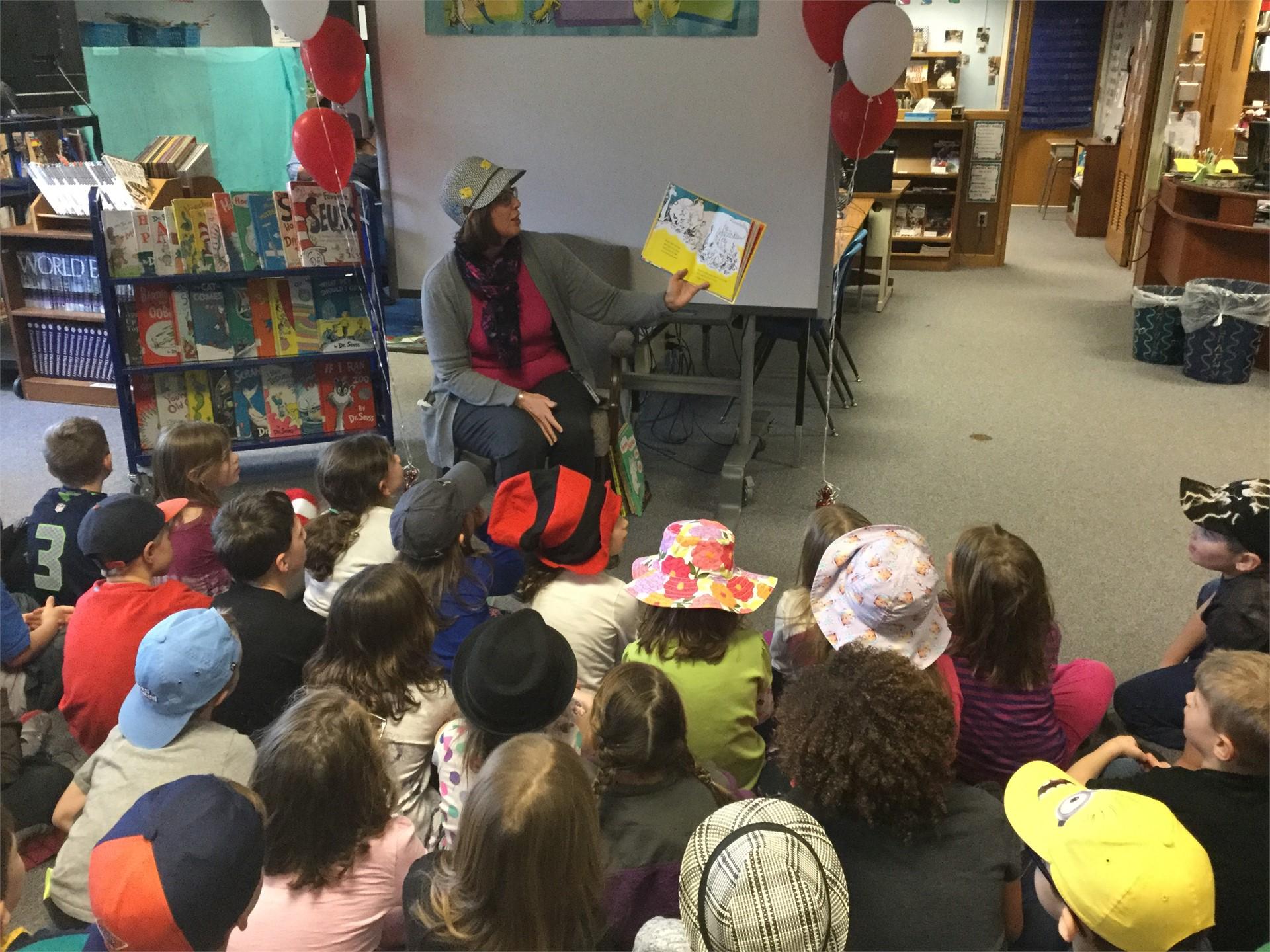 Celebrating Seuss and Reading!