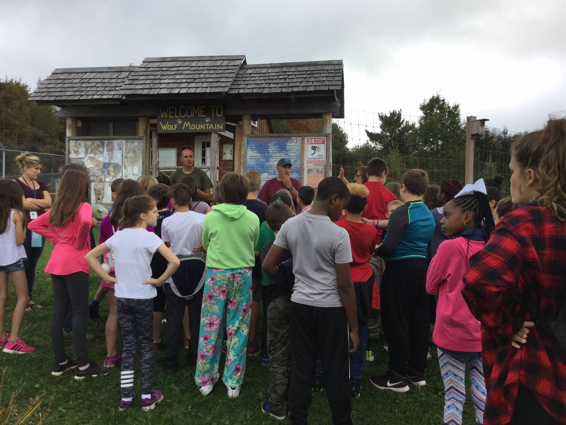 Fifth Grade Visit Wolf Mountain