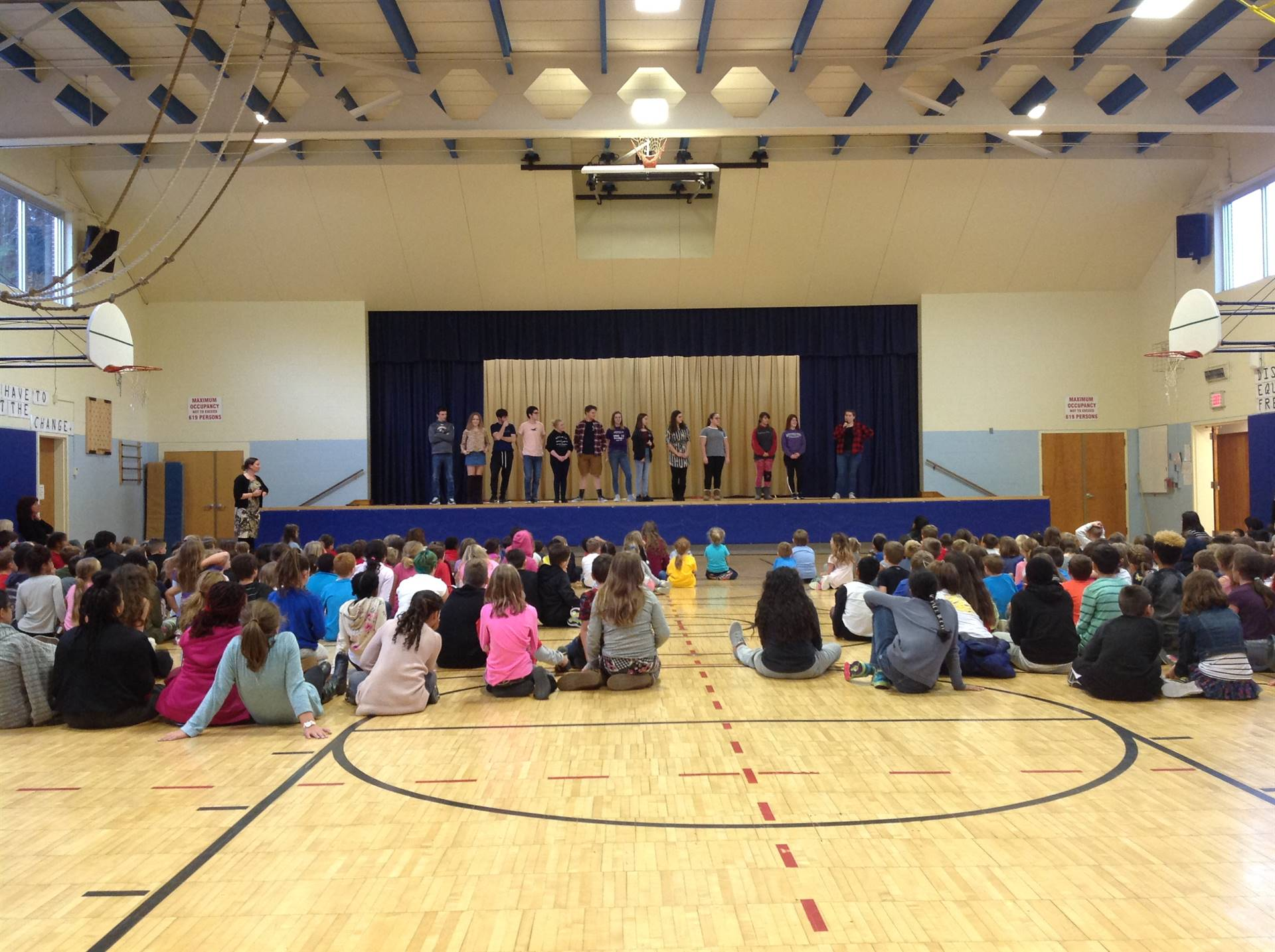 OHS Drama Club Character Education Play