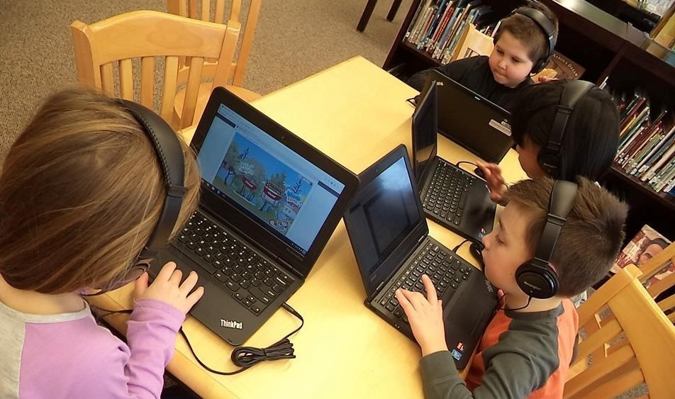 1st Grade Chromebook Kids