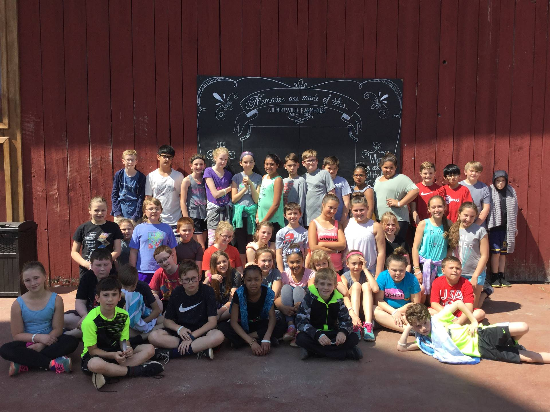 5th Grade Visit to Goat Yoga