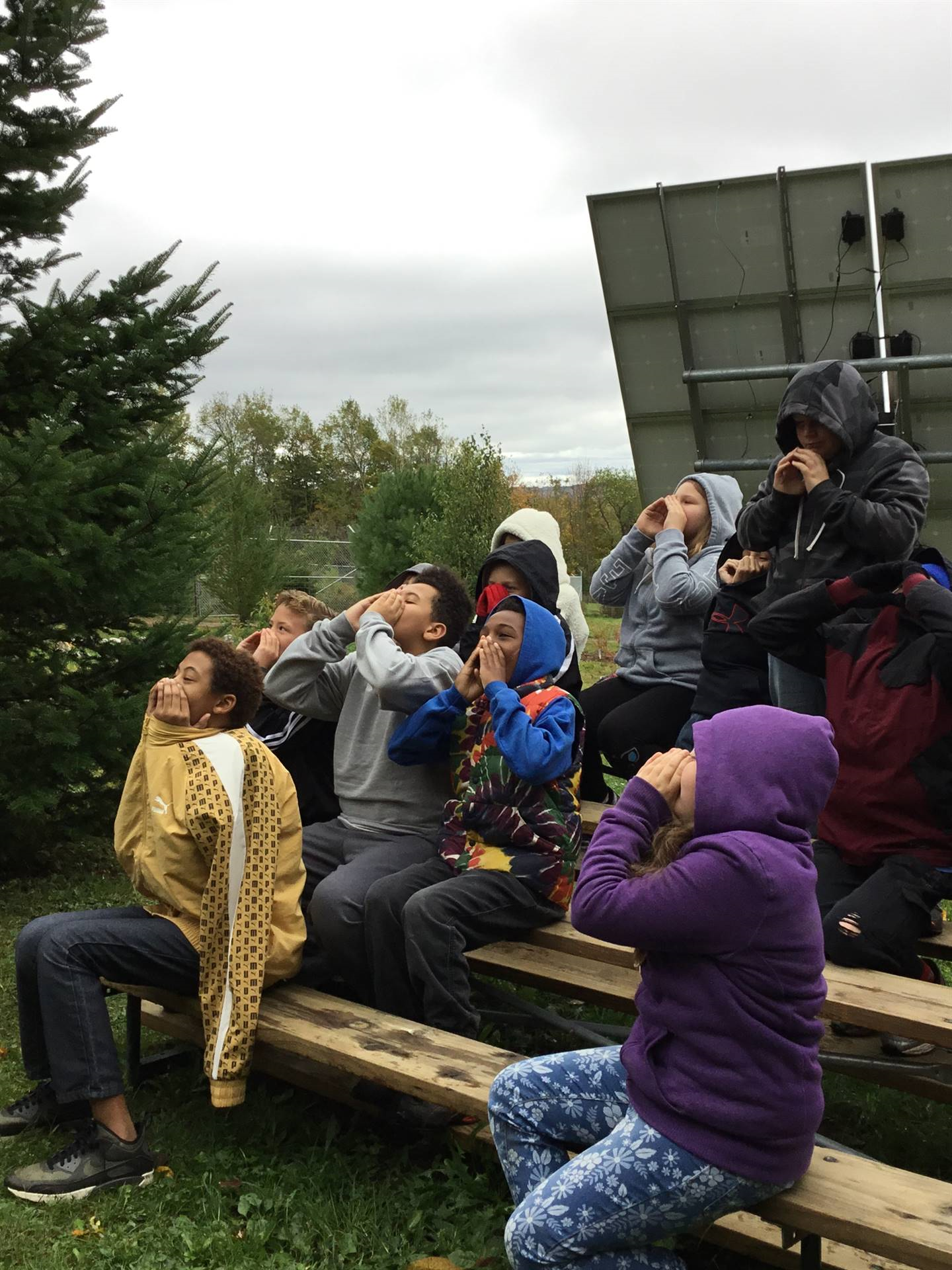 5th Graders at Wolf Mountain