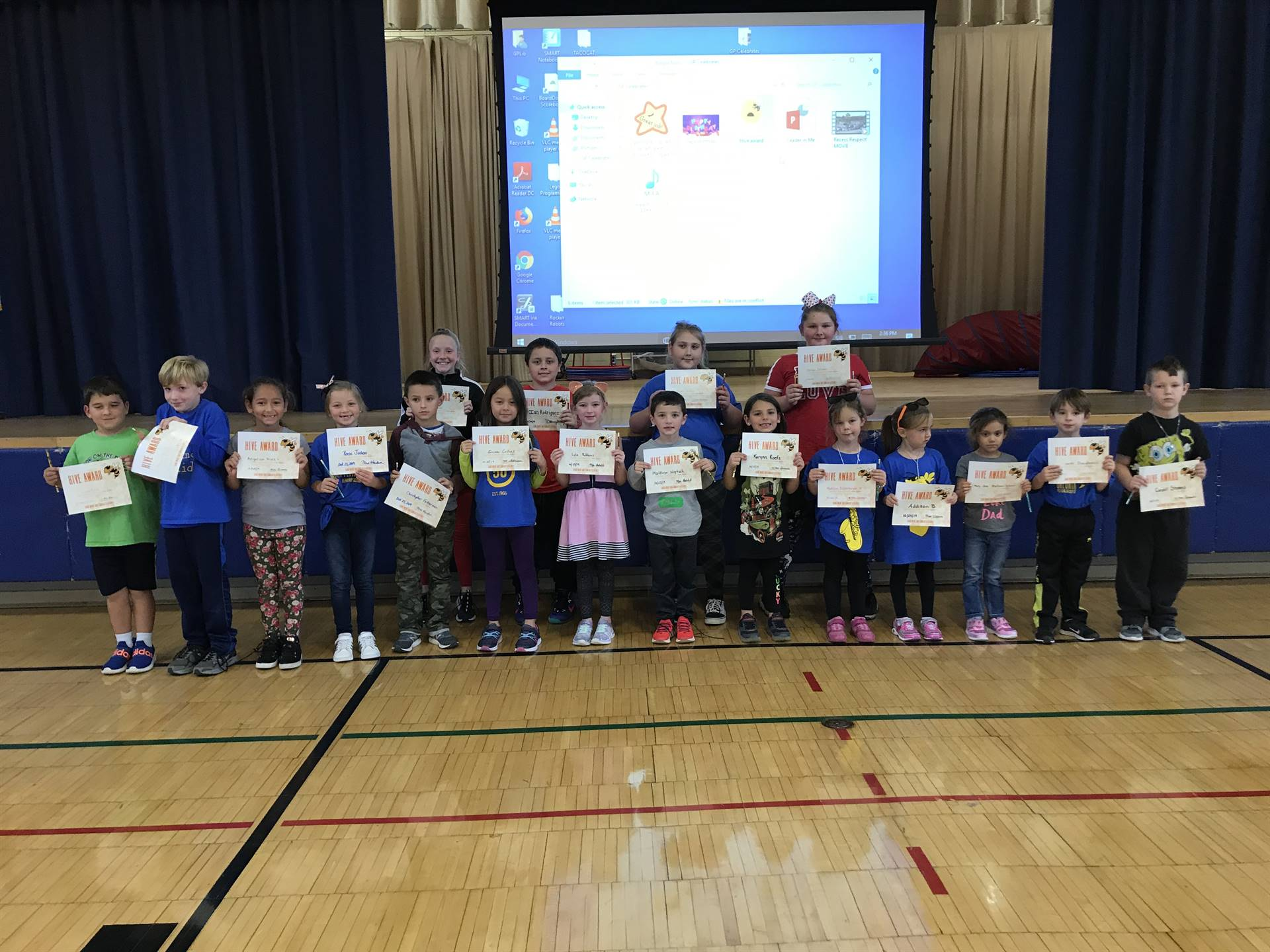 October Hive Award Winners