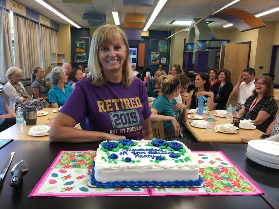 Retiring school nurse, Mrs. Miller