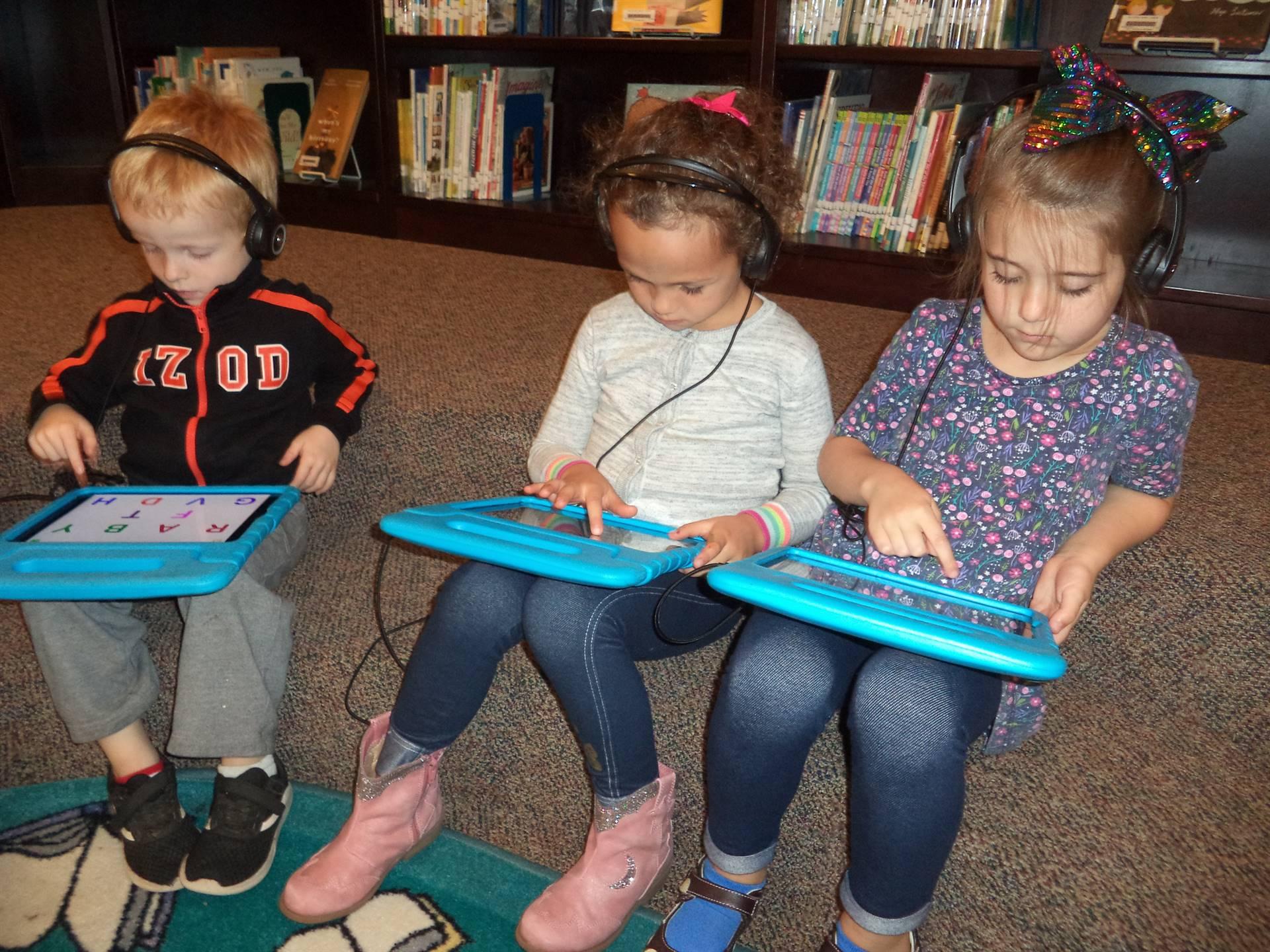 Kindergarten iPads