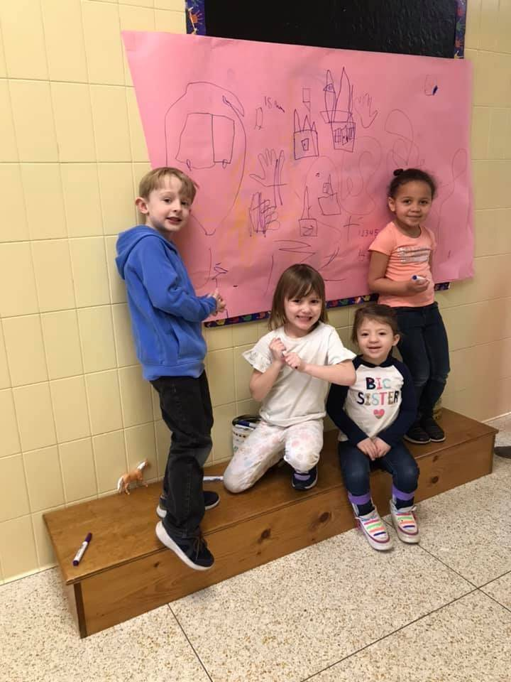 Kindergartens drawing