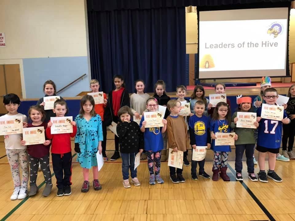 HIVE Award winners for February